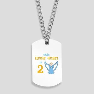 little angel custom age Dog Tags