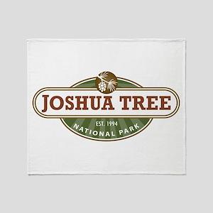 Joshua Tree National Park Throw Blanket