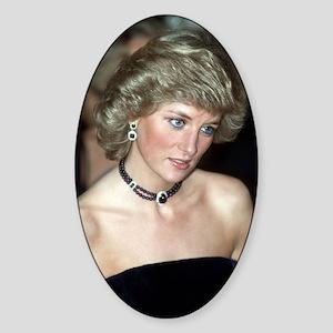 Stunning! Princess Diana Sticker (Oval)