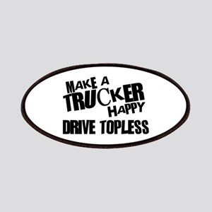 Make a Trucker Happy Patches