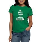 Get Me a Beer Women's Dark T-Shirt