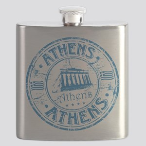 Athens Stamp Flask