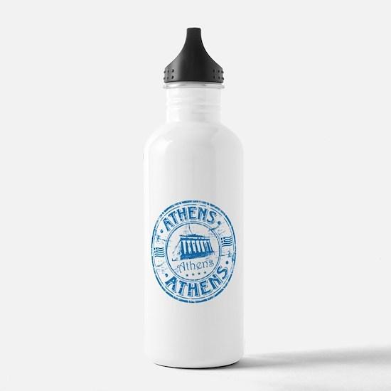Athens Stamp Water Bottle