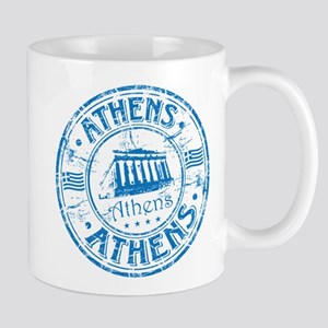 Athens Stamp Mugs