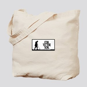Coil to the soil Tote Bag