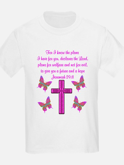 JEREMIAH 29:11 T-Shirt