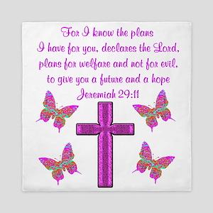 JEREMIAH 29:11 Queen Duvet