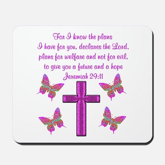 JEREMIAH 29:11 Mousepad