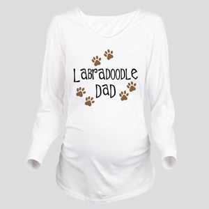 3-labradoodle dad Long Sleeve Maternity T-Shir