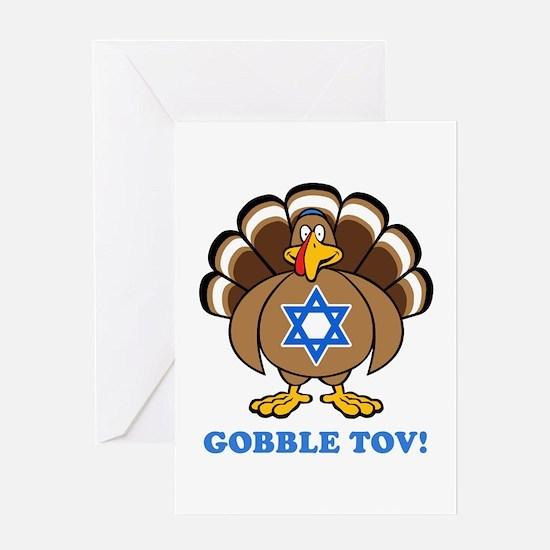 Funny Thanksgiving Hanukkah 2013 Greeting Card