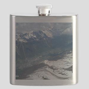 Chamonix Valley View Flask