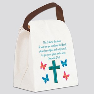 JEREMIAH 29:11 Canvas Lunch Bag