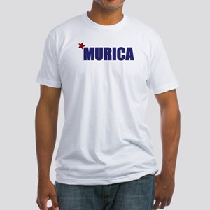 'Murica America Fitted T-Shirt