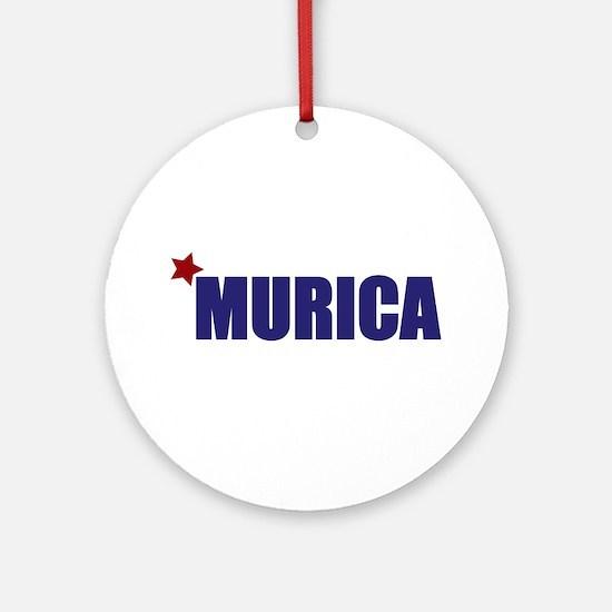 'Murica America Ornament (Round)