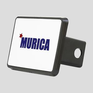'Murica America Rectangular Hitch Cover