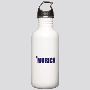 'Murica America Stainless Water Bottle 1.0L