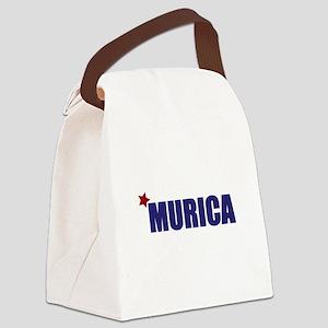 'Murica America Canvas Lunch Bag