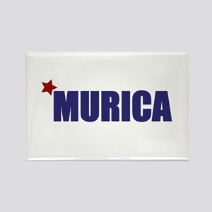 'Murica America Rectangle Magnet