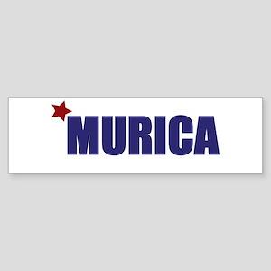 'Murica America Sticker (Bumper)