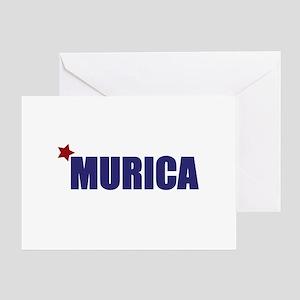 'Murica America Greeting Card