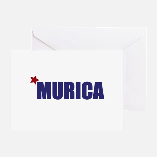 'Murica America Greeting Card