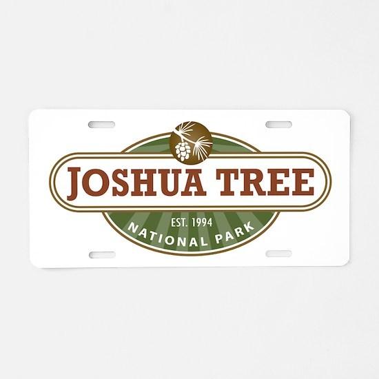 Joshua Tree National Park Aluminum License Plate