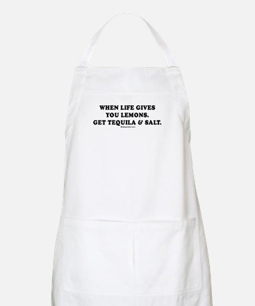 When life gives you lemons, get tequila BBQ Apron