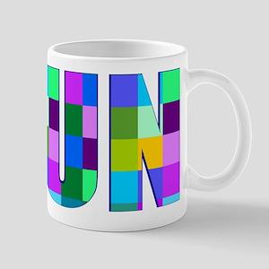 Run Squares Mugs