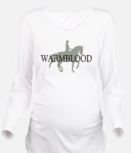 piaffe warmblood.png Long Sleeve Maternity T-Shirt