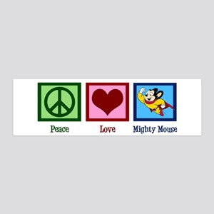 Mighty Mouse 20x6 Wall Decal