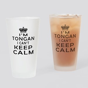 I Am Tongan I Can Not Keep Calm Drinking Glass