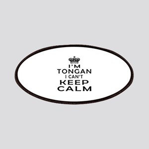 I Am Tongan I Can Not Keep Calm Patches