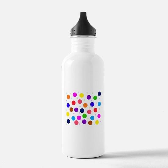 Polka dots (h) Water Bottle