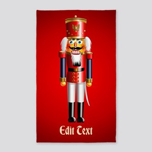 Xmas Nutcracker Area Rug