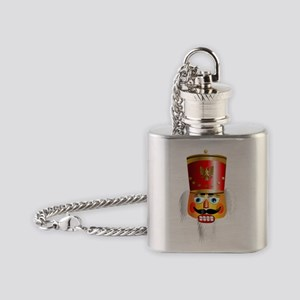Nutcracker Head Flask Necklace