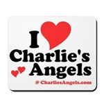 I Heart Charlie's Angels Mousepad