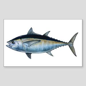 Blackfin Tuna Sticker (Rectangle)