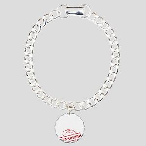 SORE AS FK - BLACK Charm Bracelet, One Charm