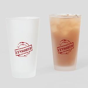 SORE AS FK - BLACK Drinking Glass