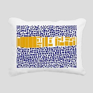 Morrocan Inspired ll Rectangular Canvas Pillow