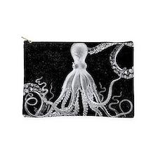 Vintage Octopus Dark Makeup Pouch