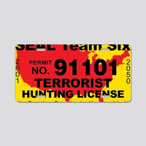 TH-License-SEAL-Team-Six Aluminum License Plate