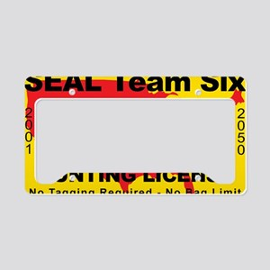 TH-License-SEAL-Team-Six License Plate Holder