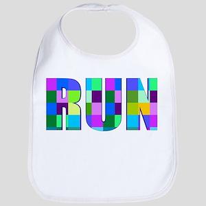 Run Squares Bib