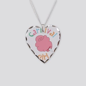 Carnival Girl Necklace Heart Charm