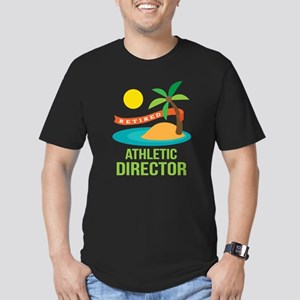 Retired Athletic Director Men's Fitted T-Shirt (da
