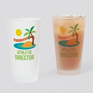 Retired Athletic Director Drinking Glass