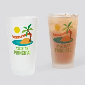 Retired Assistant Principal Drinking Glass