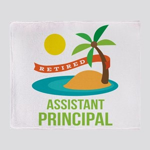 Retired Assistant Principal Throw Blanket