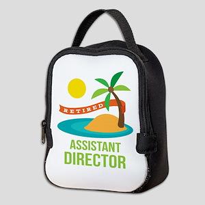 Retired Assistant Director Neoprene Lunch Bag